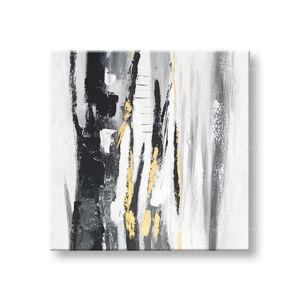 Maľovaný obraz na stenu ABSTRAKT 1 dielny CWF1893HE1 - 60x60 cm (maľované obrazy)