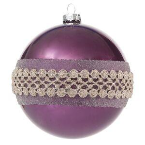 Vianočná guľa AMARA 4 ks (8 cm)